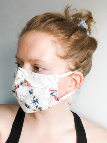 Upcycled Cotton Reusable Face Masks - Le Prix Fashion & Consulting