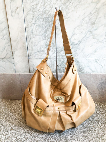 Beverly Hills Polo Club Caramel Shoulder Purse