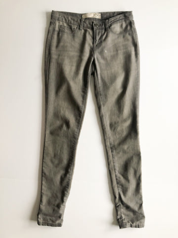 Joe Fresh Distressed Grey Skinny Jeans - Size 0
