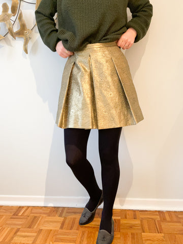 Black Footed Fleece Lined Tights - XS / Small Petite