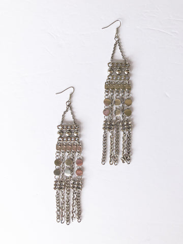 Chain Statement Dangle Earrings