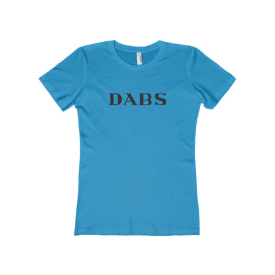 Dabs Weed Shirt - Women Solid Turquoise