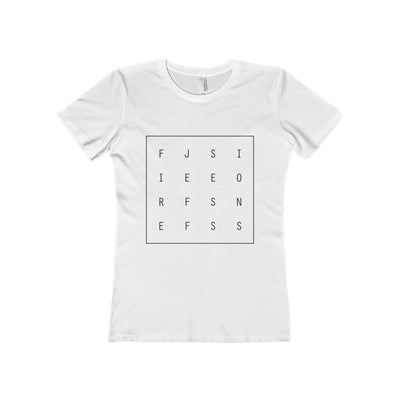 Jeff Sessions Shirt - Women's Solid White