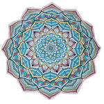 Indian Mandala Tapestry Lotus Mat