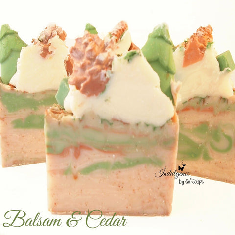 Balsam and Cedar Artisan Soap