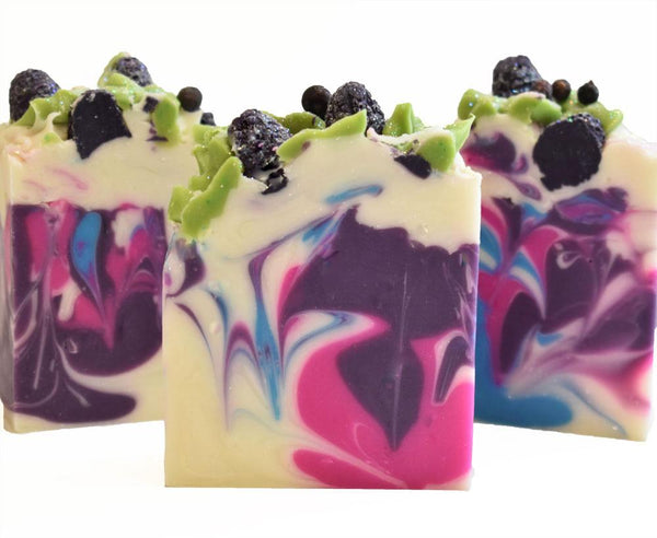 Blackberry Jam Handmade Artisan Vegan Soap