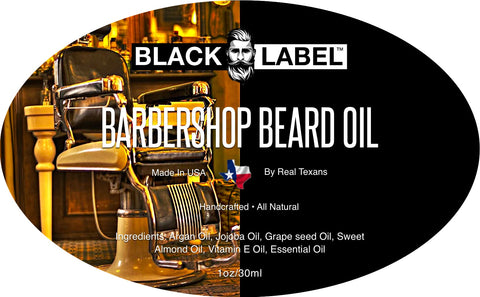 Barbershop Beard Oil, Best Beard Conditioner & Beard Softener - Blacklabel Beard Company