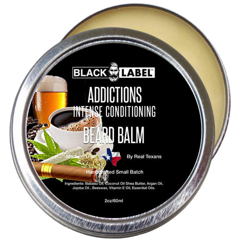 Addictions Beard Balm, Best Beard Conditioner & Styling Pomade - Blacklabel Beard Company