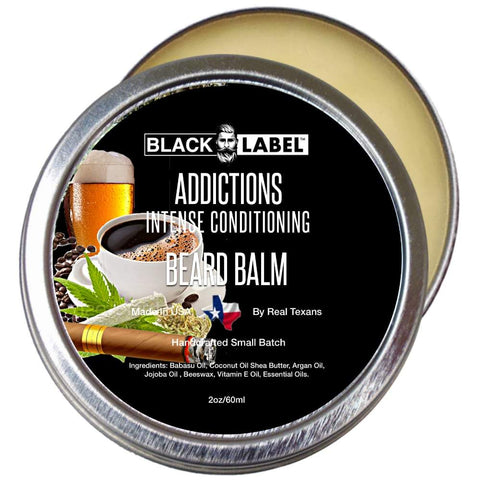Addictions Beard Butter Best Beard Conditioner & Beard Softener - Blacklabel Beard Company