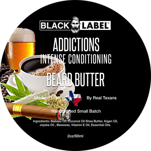 Addictions Beard Butter Best Beard Conditioner & Styling Pomade - Blacklabel Beard Company