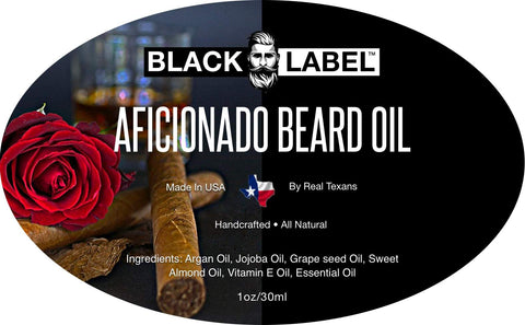 Aficionado Beard Oil - Blacklabel Beard Company