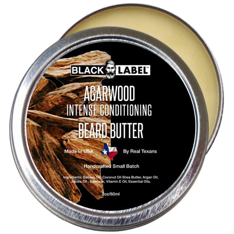 Agarwood Beard Butter, Best Beard Conditioner & Beard Softener - Blacklabel Beard Company