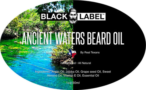 Image of Ancient Waters Best Beard Oil Beard Conditioner Beard Softener - Blacklabel Beard Company