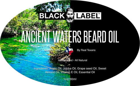 Ancient Waters Best Beard Oil Beard Conditioner Beard Softener - Blacklabel Beard Company