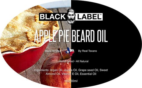 Apple Pie Beard Oil, Best Beard Conditioner & Beard Softener - Blacklabel Beard Company
