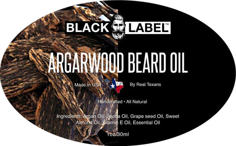 Argarwood Beard Oil, Best Beard Conditioner & Beard Softener - Blacklabel Beard Company