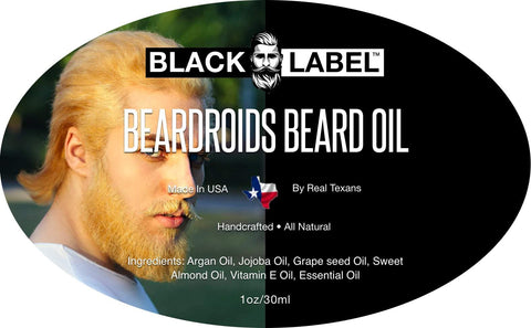 Beardroids Beard Oil - Blacklabel Beard Company