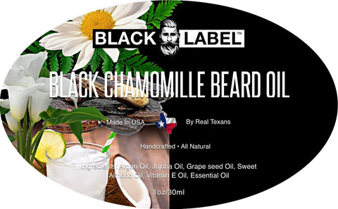 Image of Black Chamomile Best Beard Oil & Beard Conditioner - Blacklabel Beard Company