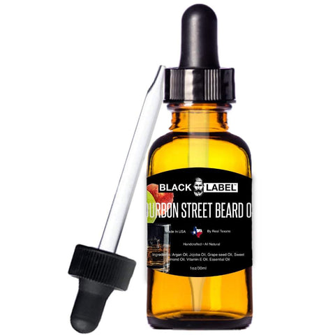 Image of Bourbon Street Best Beard Oil & Conditioner - Beard Softener Beard Care - Blacklabel Beard Company
