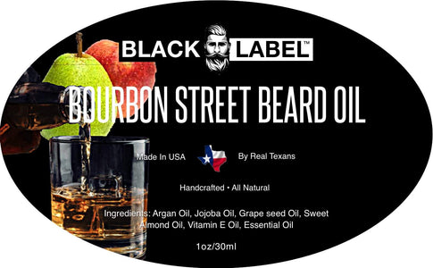 Bourbon Street Best Beard Oil & Conditioner - Beard Softener Beard Care - Blacklabel Beard Company