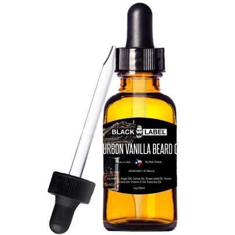 Image of Bourbon Vanilla Beard Oil, Best Beard Conditioner & Beard Softener - Blacklabel Beard Company