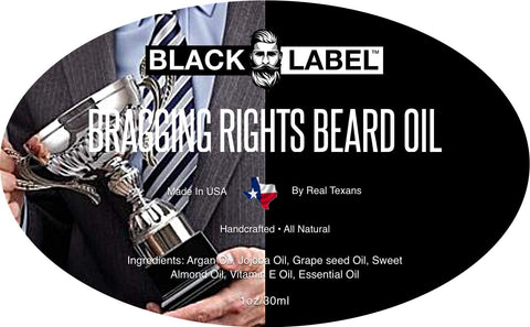 Image of Bragging Rights Beard Oil, Best Beard Conditioner and Beard Softener - Blacklabel Beard Company