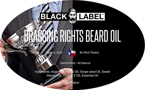 Bragging Rights Beard Oil, Best Beard Conditioner and Beard Softener - Blacklabel Beard Company