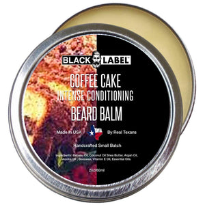 Coffee Cake Beard Balm, Best Beard Conditioner & Styling Pomade - Blacklabel Beard Company