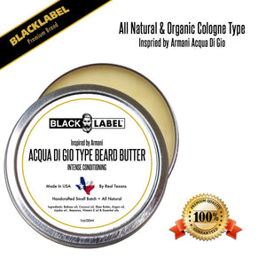 Compare to Aqua Di Gio | Cologne Type Beard Butter - Blacklabel Beard Company