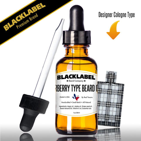 Compare To Burberry | Cologne Type Beard Oil - Blacklabel Beard Company