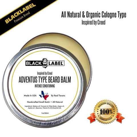 Compare to Creed Adventus | Cologne Type Beard Balms - Blacklabel Beard Company