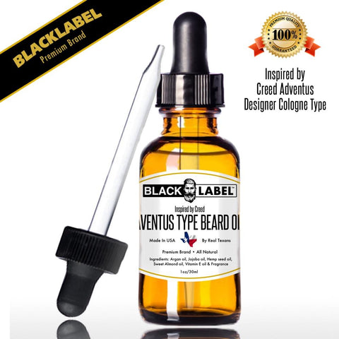 Creed Adventus | Cologne Type Beard Oil - Blacklabel Beard Company