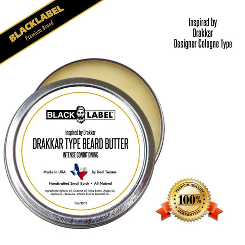 Image of Compare to Drakkar | Cologne Type Beard Butter - Blacklabel Beard Company