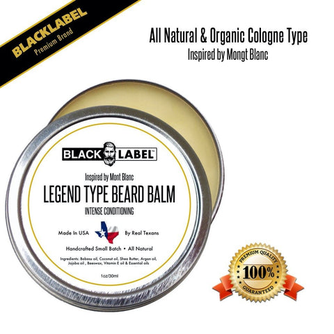 Compare to Legend by Monte Blanc | Cologne Type Beard Balms - Blacklabel Beard Company