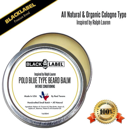 Compare to Polo Blue | Cologne Type Beard Balms - Blacklabel Beard Company