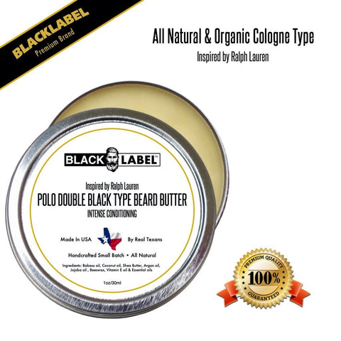 Image of Compare to Polo Double Black | Cologne Type Beard Butter - Blacklabel Beard Company
