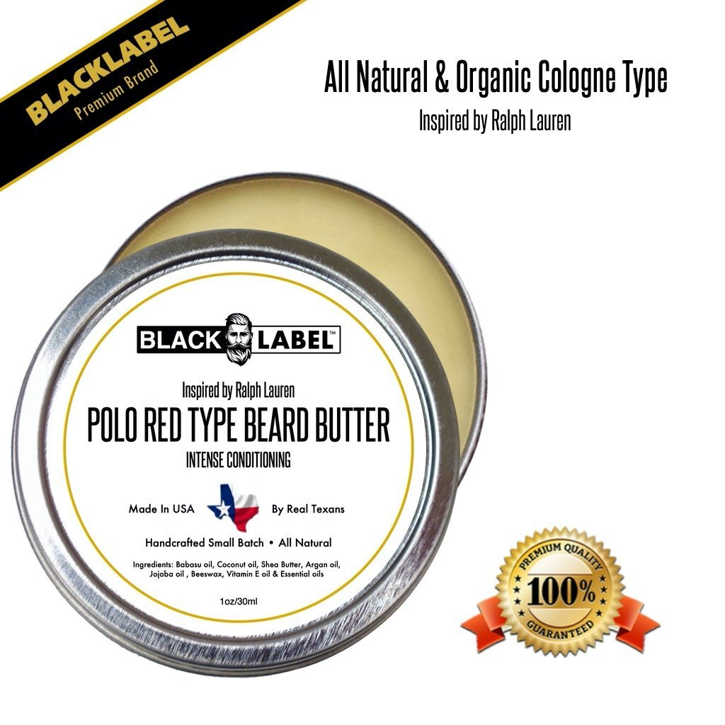 Compare to Polo Red | Cologne Type Beard Butter - Blacklabel Beard Company