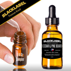 Custom Sample 4-Pack Best Beard Oil | Premium All Natural Beard Oil - Blacklabel Beard Company