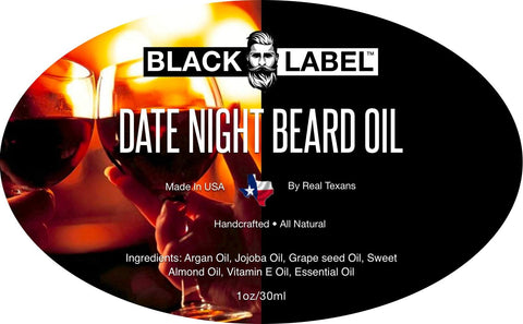 Image of Date Night Beard Oil - Blacklabel Beard Company