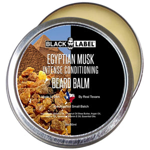 Egyptian Musk Beard Balm, Best Beard Conditioner & Styling Pomade - Blacklabel Beard Company