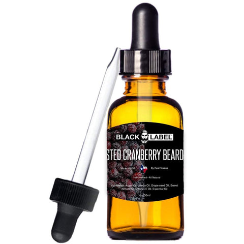 Image of Frosted Cranberry Beard Oil, Best Beard Conditioner & Beard Softener - Blacklabel Beard Company