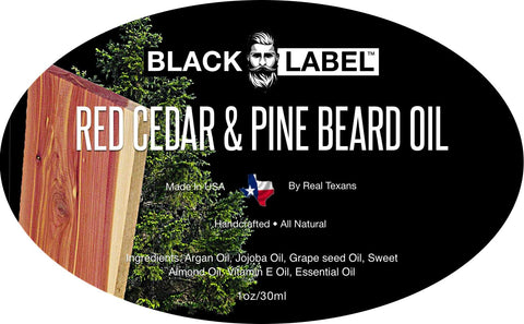 Image of Red Cedar & Pine Beard Oil - Blacklabel Beard Company