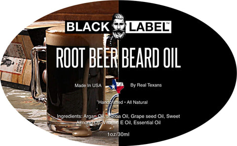 Image of Root Beer Best Beard Oil Beard Conditioner Beard Softener - Blacklabel Beard Company