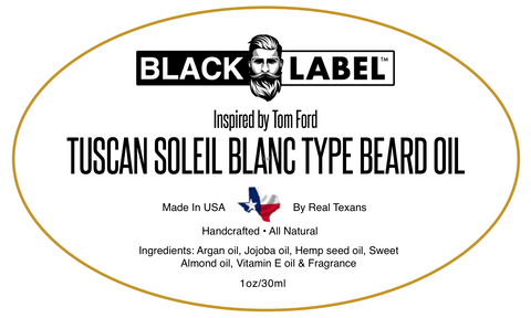 Tom Ford Soleil Blanc type | Cologne Type Beard Oil - Blacklabel Beard Company