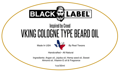 Viking by Creed Type | Cologne Type Beard Oil - Blacklabel Beard Company