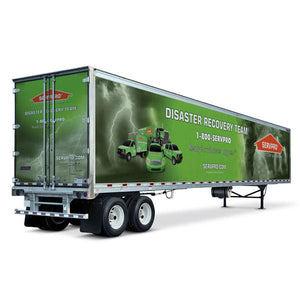 53' Ft Trailer Wraps