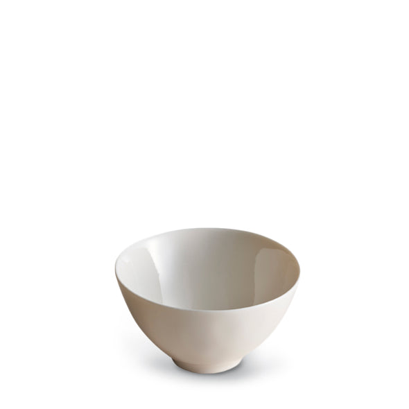 Dune Porcelain White Rice Bowl