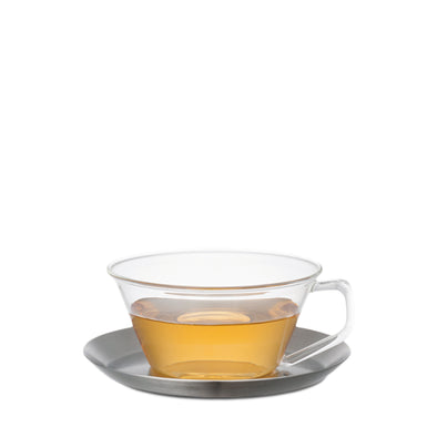 CAST Tea Cup & Saucer stainless steel