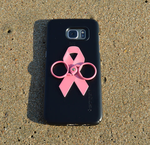 Pink ribbon - Phone holder & stand