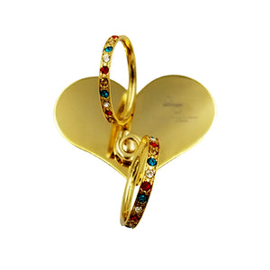 18K Gold plated SWAROVSKI Heart - Phone holder & stand